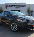 ford fusion 2014 black sedan se gasoline 4 cylinders front wheel drive automatic 76230