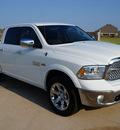 ram 1500 2013 white laramie gasoline 8 cylinders 4 wheel drive automatic 76049