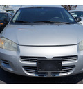 dodge stratus 2001 silver sedan se gasoline 4 cylinders front wheel drive automatic 76543