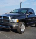 dodge ram 1500 2004 black pickup truck st gasoline 6 cylinders rear wheel drive 5 speed manual 76234