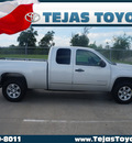 gmc sierra 1500 2011 silver sl flex fuel 8 cylinders 4 wheel drive automatic 77587