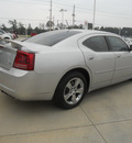 dodge charger 2008 silver sedan rt gasoline 8 cylinders rear wheel drive automatic 75503
