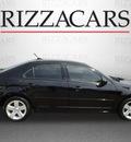 ford fusion 2007 black sedan se gasoline 6 cylinders front wheel drive automatic with overdrive 60546