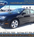 ford fusion 2012 black sedan sport gasoline 6 cylinders front wheel drive automatic 32401