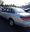 saturn l series 2001 silver sedan l300 gasoline 6 cylinders front wheel drive automatic 94063