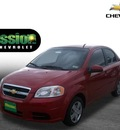 chevrolet aveo 2011 red sedan lt gasoline 4 cylinders front wheel drive automatic 79936