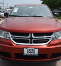 dodge journey 2013 brown american value package gasoline 4 cylinders front wheel drive automatic 76011