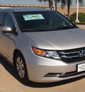 honda odyssey 2014 silver van ex gasoline 6 cylinders front wheel drive automatic 77065