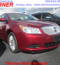 buick lacrosse 2010 dk  red sedan cx gasoline 6 cylinders front wheel drive automatic 45840