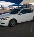 honda accord 2012 white sedan ex l gasoline 4 cylinders front wheel drive automatic 79936