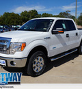 ford f 150 2013 white xlt gasoline 6 cylinders 4 wheel drive automatic 75062