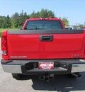 gmc sierra 2500hd 2013 red work truck gasoline 8 cylinders 4 wheel drive automatic 44024