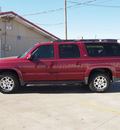 chevrolet suburban 2005 dk  red suv 1500 z71 flex fuel 8 cylinders 4 wheel drive automatic 79110