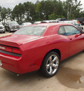 dodge challenger 2014 maroon coupe rt gasoline 8 cylinders rear wheel drive automatic 77375