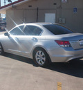 honda accord 2009 silver sedan ex l v6 gasoline 6 cylinders front wheel drive automatic 79110