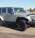 jeep wrangler unlimited 2007 silver suv rubicon gasoline 6 cylinders 4 wheel drive automatic 79110