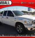 dodge ram 1500 2007 white pickup truck st gasoline 8 cylinders rear wheel drive automatic 77375
