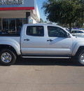 toyota tacoma 2011 silver prerunner v6 6 cylinders automatic 76053