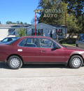 toyota camry 1996 maroon sedan gasoline 4 cylinders front wheel drive automatic 77379