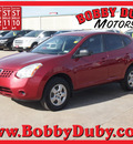 nissan rogue 2009 red suv s gasoline 4 cylinders all whee drive automatic 79110