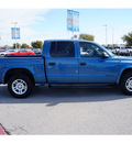 dodge dakota 2004 blue pickup truck sxt gasoline 6 cylinders rear wheel drive automatic 78224
