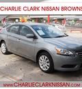 nissan sentra 2013 silver sedan fe sv gasoline 4 cylinders front wheel drive automatic 78520