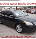 nissan sentra 2013 black sedan sv gasoline 4 cylinders front wheel drive automatic 78520