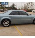 chrysler 300 2009 blue sedan c hemi gasoline 8 cylinders rear wheel drive automatic 77375