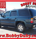 chevrolet tahoe 2005 dk  blue suv ls gasoline 8 cylinders rear wheel drive automatic 79110