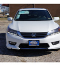 honda accord 2014 white sedan touring 6 cylinders automatic 75606
