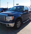 ford f 150 2011 blue xlt flex fuel 8 cylinders 2 wheel drive automatic 77539