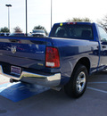 dodge ram 1500 2010 blue flex fuel 8 cylinders 2 wheel drive automatic 76051