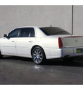 cadillac dts 2007 white sedan performance gasoline 8 cylinders front wheel drive automatic 79407