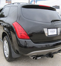 nissan murano 2005 black suv gasoline 6 cylinders all whee drive automatic 77379