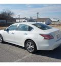 nissan altima 2014 white sedan 2 5 sl gasoline 4 cylinders front wheel drive automatic 76116