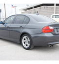 bmw 3 series 2008 gray sedan 328i gasoline 6 cylinders rear wheel drive automatic 78840