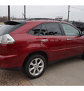 lexus rx 350 2009 red suv 6 cylinders automatic 77546