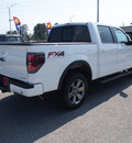 ford f 150 2014 white fx4 8 cylinders automatic 77375