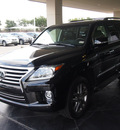 lexus lx 570 2014 black suv gasoline 8 cylinders 4 wheel drive automatic 77074
