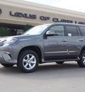 lexus gx 460 2014 gray suv gasoline 8 cylinders 4 wheel drive automatic 77546