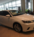 lexus ct 200h 2014 white hatchback 4 cylinders automatic 77074