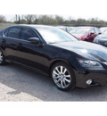 lexus gs 350 2014 black sedan gasoline 6 cylinders rear wheel drive automatic 77074