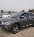 lexus rx 350 2014 gray suv gasoline 6 cylinders front wheel drive automatic 77074