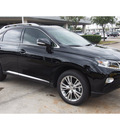 lexus rx 350 2014 black suv 6 cylinders automatic 77074