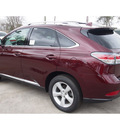 lexus rx 350 2014 dk  red suv 6 cylinders automatic 77074
