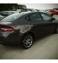 dodge dart 2014 gray sedan sxt 4 cylinders automatic 77375