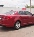kia optima 2012 dk  red sedan lx gasoline 4 cylinders front wheel drive automatic 79110