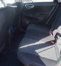 nissan sentra 2014 dk  red sedan sv gasoline 4 cylinders front wheel drive automatic 76116
