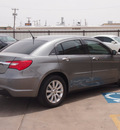 chrysler 200 2013 dk  gray sedan limited flex fuel 6 cylinders front wheel drive automatic 79110