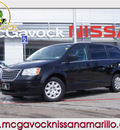 chrysler town country 2010 black van flex fuel 6 cylinders front wheel drive automatic 79119